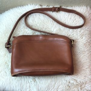 Vintage Made in USA Coach crossbody bag